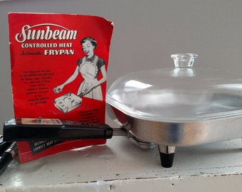 Vintage Sunbeam Automatic Frying Pan