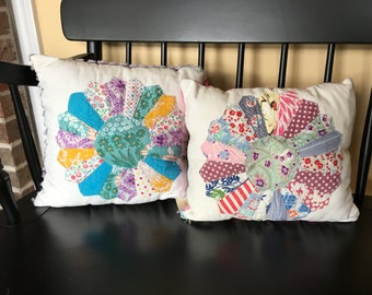 Quilt square pillows