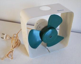 Vintage 70' small table/desk Tymesa fan
