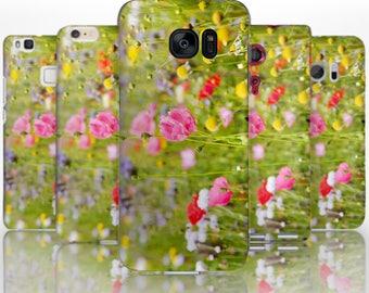 BG0093 Plastic hard case print, personalized/ custom/ personalised phone protective case wild flowers