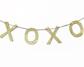 XOXO Garland | XOXO Banner | XOXO Decor | Valentine's Garland | Valentine's Decor | Valentine's Decoration | Love Decor