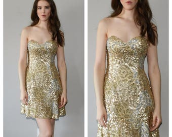 90s sequin dress  Etsy