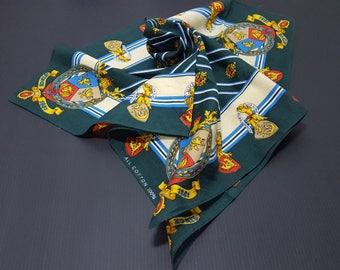Vintage 1881S Handkerchief, Fork Over, Buta Glove Handkerchief, All Cotton Handkerchief