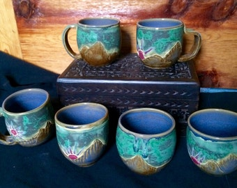 Mountain Mug set