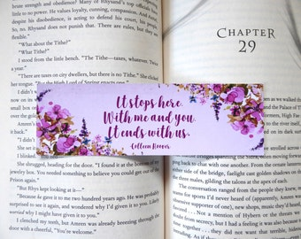 It Ends With Me and You Bookmark