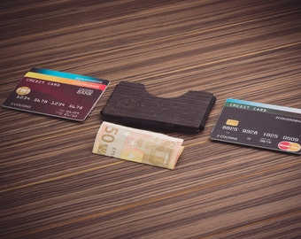 Wood wallet, Card holder, Slim wallet by 2Cousins