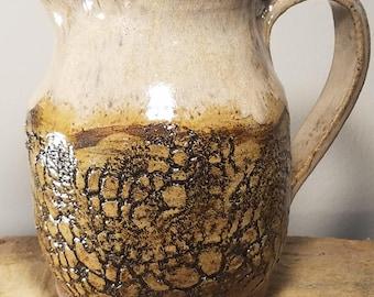 Winter Woods; Handmade Ceramic Pitcher