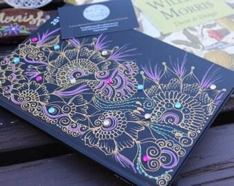 Arabian Nights Henna Notebook