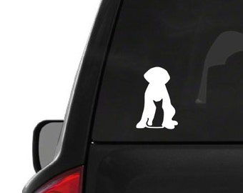 Cat Dog (A28) Vinyl Decal Sticker Car/Truck Laptop/Netbook Window