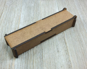 5.5 x 1.2 long top puzzle box