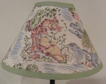 Winnie The Pooh Lamp Etsy