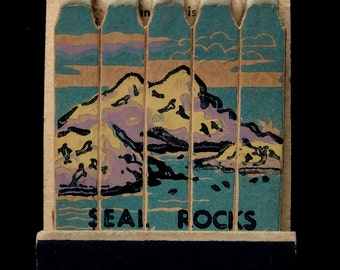 "Vintage Matchbook of ""Cliff House"" San Francisco California c. 1950"