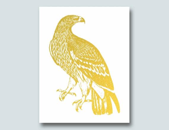 Gold eagle home decor home decor for Eagle decorations home