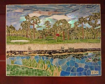 Golfing In The Florida Sun - SOLD