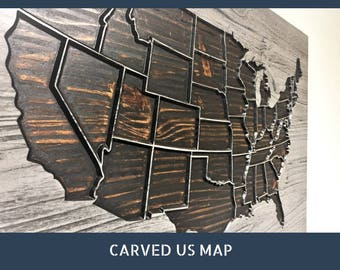 view map wall art by howdyowl on etsy. Black Bedroom Furniture Sets. Home Design Ideas