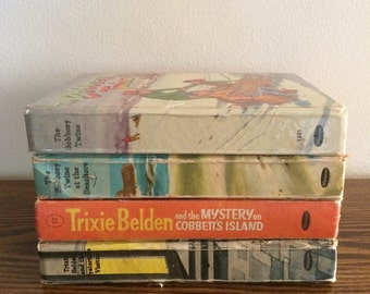 Trixie Belden and The Bobbsey Twins Mystery Books