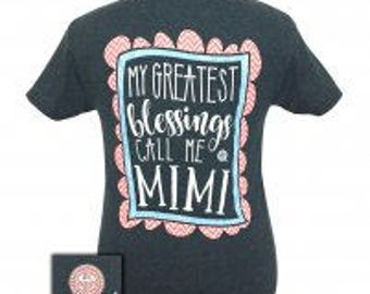 Girlie Girl call me MiMi tee shirt NEW