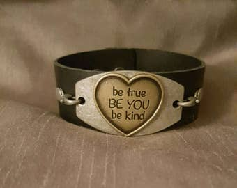 Be You Leather Cuff Bracelet