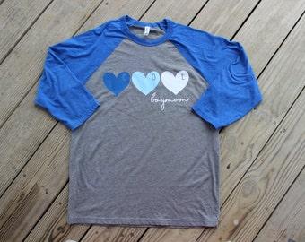 Personalized Boy Mom Baseball T-Shirt Tee