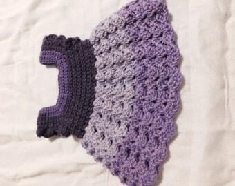 Newborn Lavender Newborn Dress