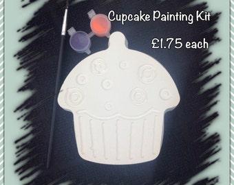 Large Cupcake paint kit