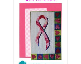PATTERN - Quilt for a Cure by BJ Designs & Patterns BJQC-54