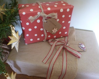 Naturals Christmas Gift Tags [18 Pack]