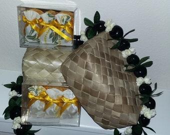Sachets of Aloha - Lavender Scented - Hawaiian Lei Design