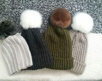 Knit // Crochet // Toque // Toddler - Adult