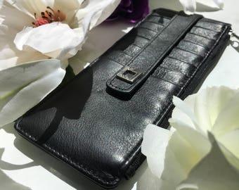 Wallet and Cardholder LODS leather black NWOT