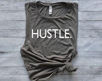 Workout Tank Top - Fitness Tank Top - Yoga Shirt - Gym Shirt - Workout Shirt - Muscle Tank Top - Hustle