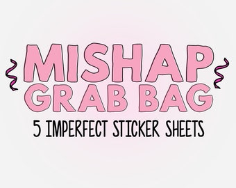 MISHAP Grab Bag - Assorted Planner Stickers