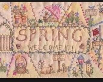 Victorian Stitchery PATTERN - My Crazy Spring