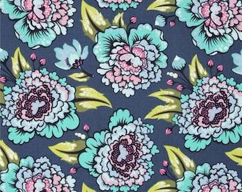 Tula Pink Elizabeth, Astraea, Sky; 1/2 yd cotton woven fabric