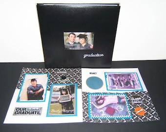Graduation Gift - Graduation Scrapbook Album - High School Graduation - Graduation Party Ideas - Premade Graduation Album - Graduation Book