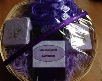 Handmade Lavender Gift Set