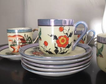 Vintage Japanese Tea Set from the 1970's - China