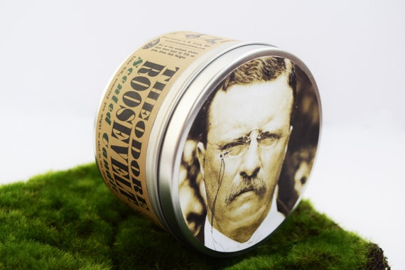 Theodore Roosevelt-Scented Candle