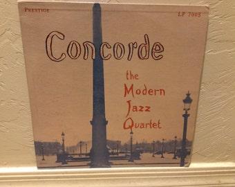 """The Modern Jazz Quartet  """"Concorde"""" Origianl Pressing"""