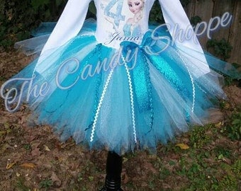 Frozen Inspired TUTU outfit