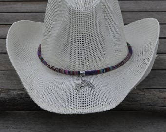 Cowboy hat Ribbon ethnic