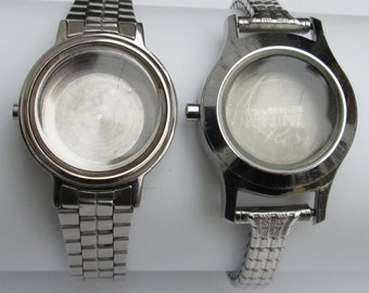Watch Cases with Band for Steampunk, Altered Art or Watch Repair Supplies (#BSC03)