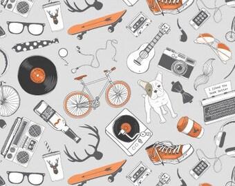 Hipster Kit Nickel - Hipster fabric - Dear Stella Designs