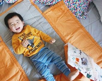 Personalized Preschool nap mat, Kids nap mat, toddler preschool nap mat, kindergarten nap mat, baby sleeping bag