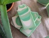 Aloe and Clover Goat Milk Soap