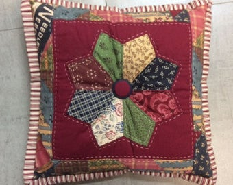Small Patchwork Cushion - Decorative
