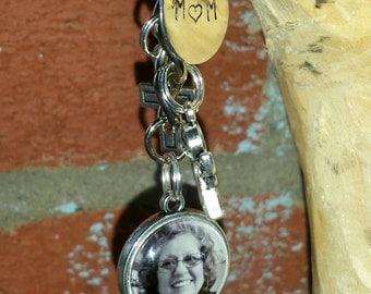 Custom memorial keychain