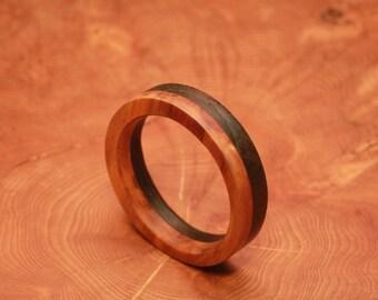 Dual wood bangle