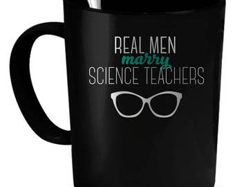 Science Teachers Coffee Mug 11 oz. Perfect Gift for Your Dad, Mom, Boyfriend, Girlfriend, or Friend - Proudly Made in the USA!