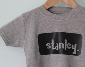 Personalised tshirt, birthday present, toddler tshirt, name, birthday gift, birthday oufit, baby outfit, baby tshirt, baby shower gift